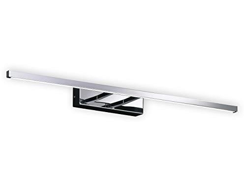 Fischer & Honsel Wandleuchte 1x LED 10,2W chr. Acrylgl.w. B.59,5cm, 30032, metallisch