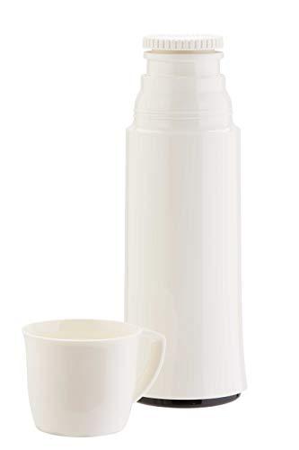 Helios Elegance Isolierflasche, Kunststoff, weiß, 0,5 Liter
