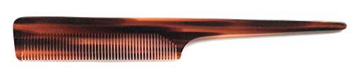 Peigne à manche précis - 20 cm - Avec denture normale - Flexible et extra large - Manche arrondi - Acétate de cellulose.