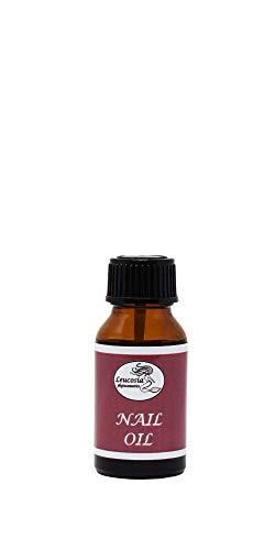NAIL OIL - 15 ml - Olio ad azione rinforzante per unghie, ammorbidisce le cuticole e combatte la micosi - 100% Naturale