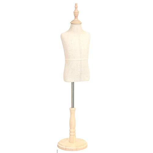 Kleiderform Kinderschneider Dummy Kinderschaufensterpuppe Schneider Büste Schneider Display Höhe verstellbar Geeignet für 2-7 Jahre alte Kinder Kleidung Display-Ständer ( Color : A , Size : Large )