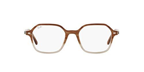 Ray-Ban 0RX5394 Gafas, GRADIENT LIGHT BROWN HAVANA, 51 Unisex Adulto