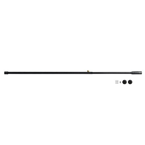 DRAW A LINE 002 Tension Rod B 突っ張り棒B ブラック 幅115~190cm 縦横兼用 D-B-BK