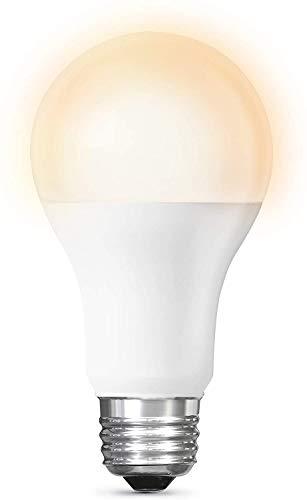 LEOZIE Smart LED Glühbirne E27 Dimmbar Warmweiß-Kaltweiß und Mehrfarbige Birne Wi-Fi-Steuerung kompatibel mit Alexa und Google Home