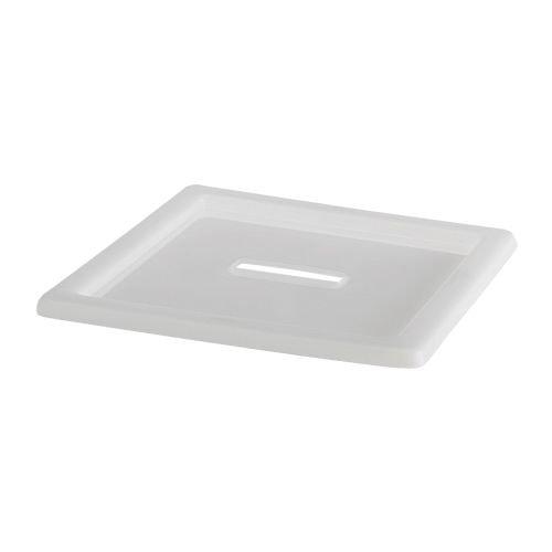 Ikea VESSLA -Deckel weiß - 39x39 cm