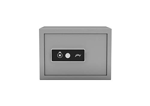 Godrej Security Solutions Forte Pro 15 Litres Safe Locker for Home & Office with Mechanical Key Lock (Grey)