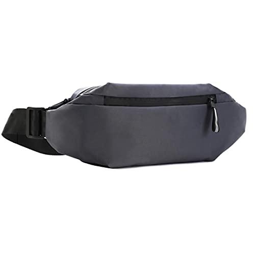NOERTYB Mochila Bolsa De Pecho De Los Hombres Bolsa De Cintura Multifunción para Deportes A Prueba De Agua Fanny Bag Pack Bolso De Hombro