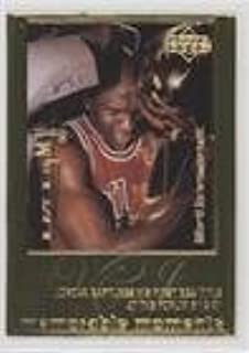 Michael Jordan #/9,923 (Basketball Card) 1999 Upper Deck Authenticated - Michael Jordan 22 kt. Gold Photo Cards #MIJO