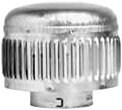 Metal-Fab 4MCHP Double Wall Vent Pipe 4 in. Vent Cap