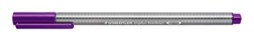 Staedtler Triplus Fineline 334 � Superfine Tip 0.3 mm Gris, Violet