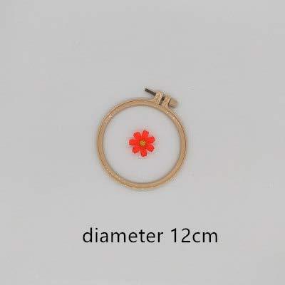 Best Quality - Borduurwerk - cm Doe-het-zelf hoop tool cirkel rond frame kunst craft cross steek chinese traditionele sewing handmatig gereedschap - by Stephanie - 1 pc 12 cm - China