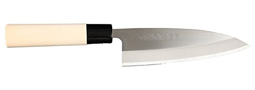 JapanBargain, Japanese Deba Knife Kitchen Knife Cooking Knife Chef Knife Sushi Knife Stainless Steel, Made in Japan, 6-1/4 inch