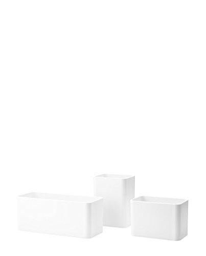 Unbekannt String - Organizer Boxen, weiß (3er-Set)
