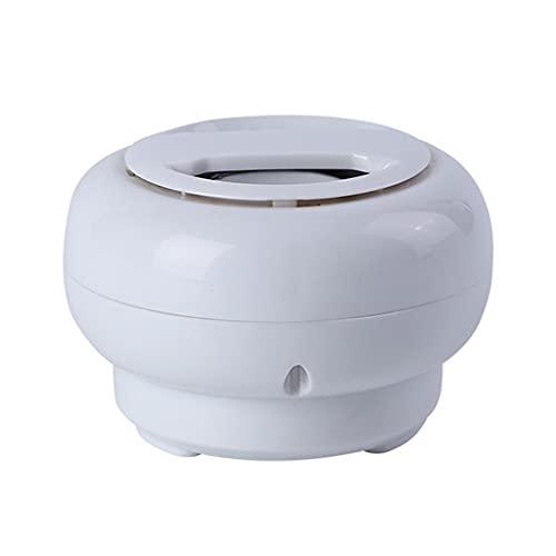 ZXQZ Altavoces portátiles Altavoces Bluetooth Portátiles, Mini Altavoz Inalámbrico con Ventosa Impermeable, Altavoz de PC para Baño Y Cocina para Escuchar Música. bocinas (Color : White)