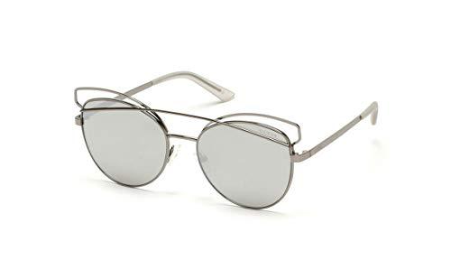 Guess GF6040-5708C Gafas de sol, Gris, 57 para Mujer