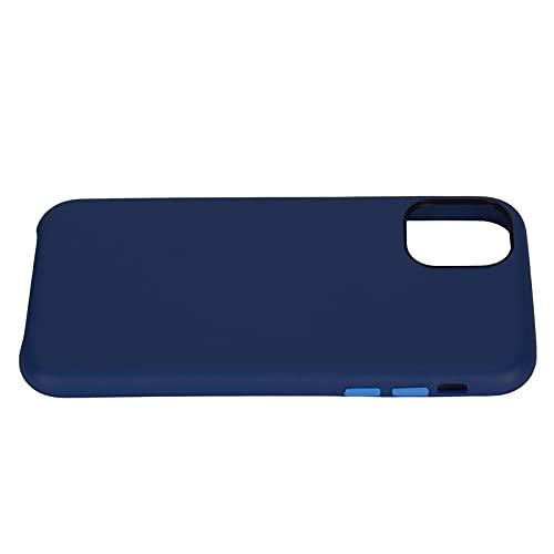 cersalt Estuche para Teléfono, Estuche Protector para Teléfono PC + PU para Teléfono(Azul)