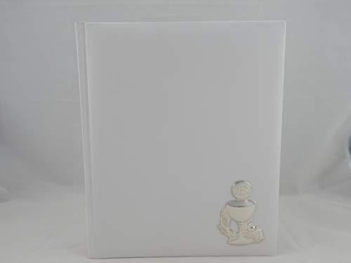 Album Foto Fotografico Prima Comunione Bianco 25x30 Cm Con Scatola