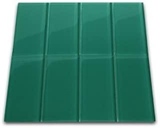 Emerald Glass Subway Tile 3