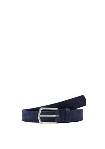s.Oliver RED LABEL Damen Gürtel aus Veloursleder dark blue 100