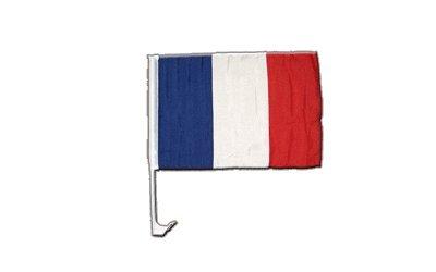 Digni Drapeau de Voiture France - 30 x 40 cm