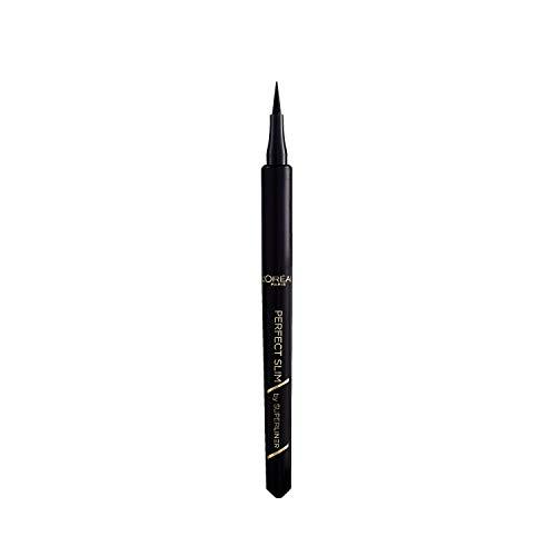 L'Oréal Paris Eyeliner mit präziser Filzspitze, Super Liner Perfect Slim, Schwarz, 1 ml