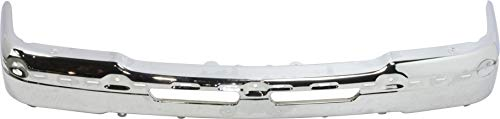 Front Bumper Compatible with 2003-2006 Chevrolet Silverado 1500 Face Bar Chrome Base/LS/LT/Hybrid Models Includes 2007 Classic
