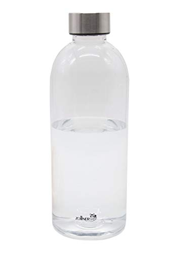 ZOLLNER24 Botella de Agua sin BPA de tritán, 1 litro, Disponible en 600 ml