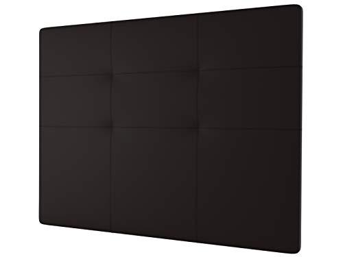 LA WEB DEL COLCHON - Cabecero tapizado Andrea para Cama de 200 (210 x 120 cms) Chocolate