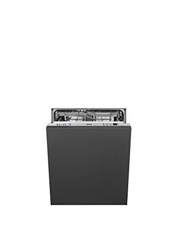 SMEG Lavastoviglie STA6539L3 da 60 cm, Scomparsa Totale, 13 Coperti, Classe A+++, triplo cesto