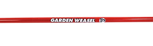 """Garden Weasel Cultivator – Break Up Soil, Detachable Tines, Long Handle, 54.5"""" Long 3 Save time, effort, and your back! – sometimes the simplest ideas are the Best. This durable and easy-to-use cultivator breaks up soil with ease and cleans itself with each turn, saving your time and body at a very affordable cost! Easy to use – simply apply the Garden Weasel to the soil and cultivate with a back-and-forth motion. For easier cultivating, slightly wet the soil. Detach 1 or 2 tines for work between narrow garden rows. Grow healthier plants - cultivating allows moisture and air to get below the packed soil, yielding healthier plants and roots. It also helps to conserve water Because water won't run off cultivated soil like it does hard-packed soil."""
