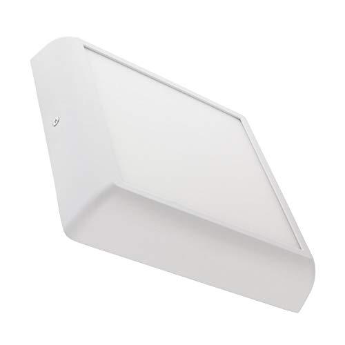 LEDKIA LIGHTING LED Deckenleuchte Eckiges Design 18W Weiß Kaltes Weiß 6000K - 6500K