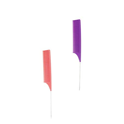 VANKOA 2pcs ABS Weave Highlighting Foiling Hair Peigne