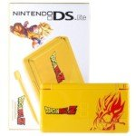 Limited Edition Nintendo DS Lite Portable Entertainment Console Refurbished with EU Charger (Yellow) - DragonBall Z