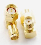 Right Angle 90 Degree SMA Male / Female Adapter for Ham Radio