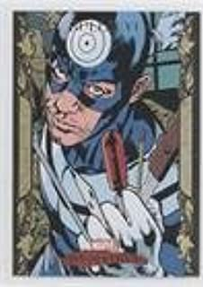 Marvel Masterpieces 2007 Base Card #76 Silver Sable