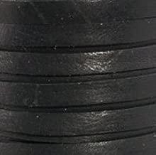 Black Deerskin Lace - 3/16 x - 50 ft Spool