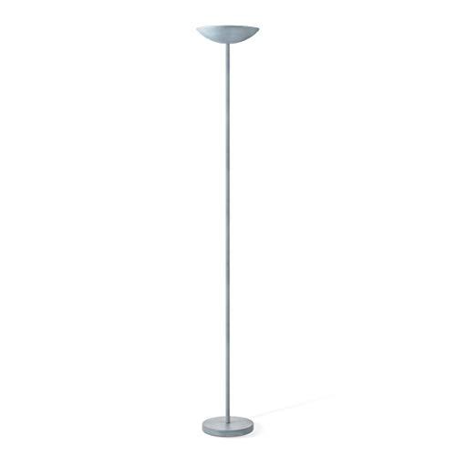 Lámpara LED de pie, iluminación integrada, certificación DEKRA, 28x28x180 cm, 100 W, 960 lúmenes, lámpara para el salón, lámpara para la habitación, lámpara de pie para la sala de estar