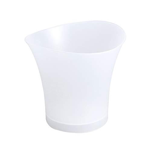 UPKOCH LED Eiskübel Beleuchtet Eiskübel Wireless Lautsprecher Weinkühler 7-Farben-Champagner Bier Eiskühler für Bar Hochzeitsfeier 5L