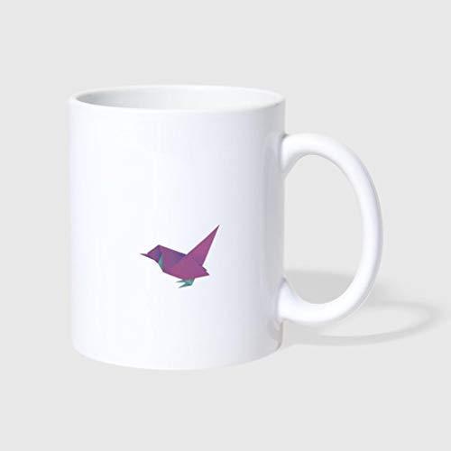 NA Origami Bird - Taza de café para el día del Padre, Viajes y Regalos, 11 oz