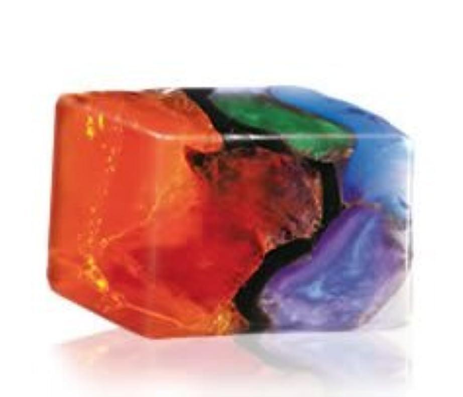 モジュール活気づける層Savons Gemme サボンジェム 世界で一番美しい宝石石鹸 フレグランスソープ ファイアオパール 170g【日本総代理店品】
