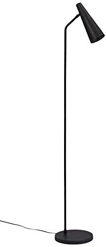 House Doctor Stehlampe, präzise, mattschwarz, G9 (LED), max. 6 W, 3,5 m Kabel, h: 124 cm