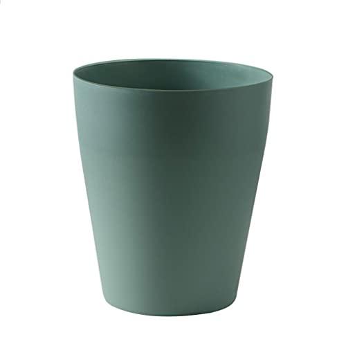 Cubo de Basura Dormitorio colorido Bote de basura sin tapa de basura creativa de basura creativa Oficina de mesa Mesa de comedor Mesa de almacenamiento Bote de basura Papelera ( Color : B )
