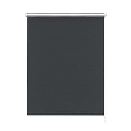 Aufun Verdunkelungsrollo Thermorollo Seitenzugrollo Seitenzug Klemmrollo ohne Bohren Klemmfix (70 x 160 cm, Anthrazit)