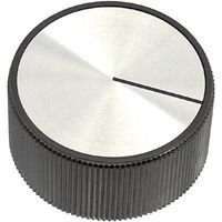 Ehc (Electronic Hardware) Round Knob with Line Indicator, 6.35Mm - EH71-4C2S