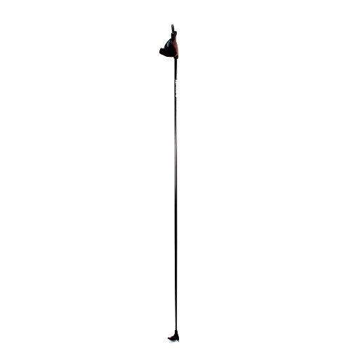XC-07 Bastones de esquí de fondo JUNIOR (X2) (Negro, 110)