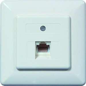PROTEC.net PUAE - Placa central (2 conectores RJ45, 2 x 8 mm, 8 cW)