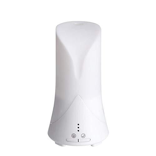 HJF ultrasone luchtbevochtiger, ruimteverlichting, milieuvriendelijk, diffuser voor etherische olie, luchtreiniger, zonder water, automatische luchtreiniger
