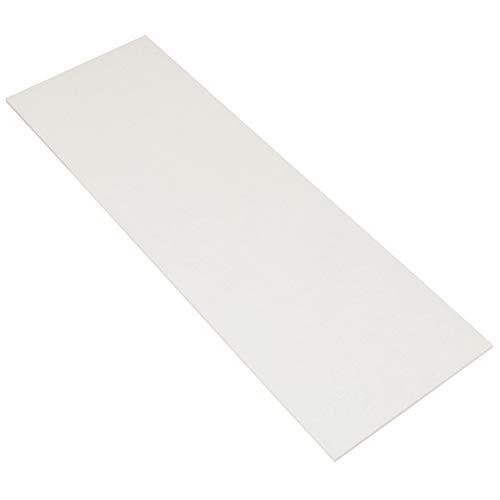 Light Stone White Musterzuschnitt 30 x 45 cm, Steingut Fliese (Muster)