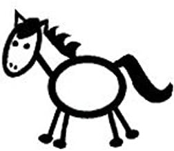 Best stick figure horse Reviews