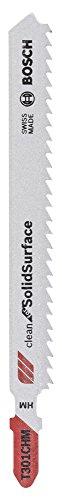 Bosch Professional Stichsägeblatt (3 Stück, für Kunststoffe bis zu 65 mm, Zubehör für Stichsäge)